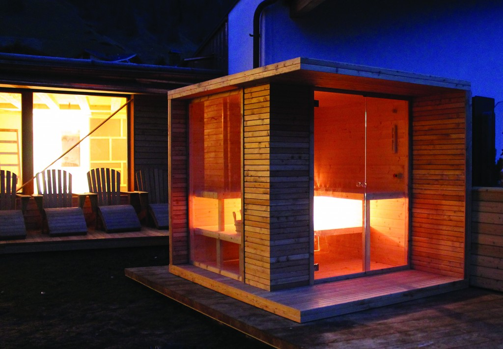 Top idus with sauna domestica for Sauna in casa